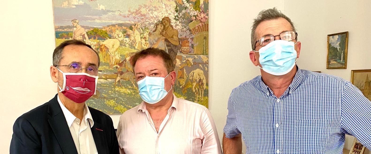 Christian POUJOL rencontre le Maire de Béziers