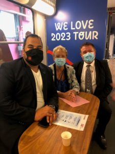 We love 2023 tour : un train pour valoriser l'artisanat