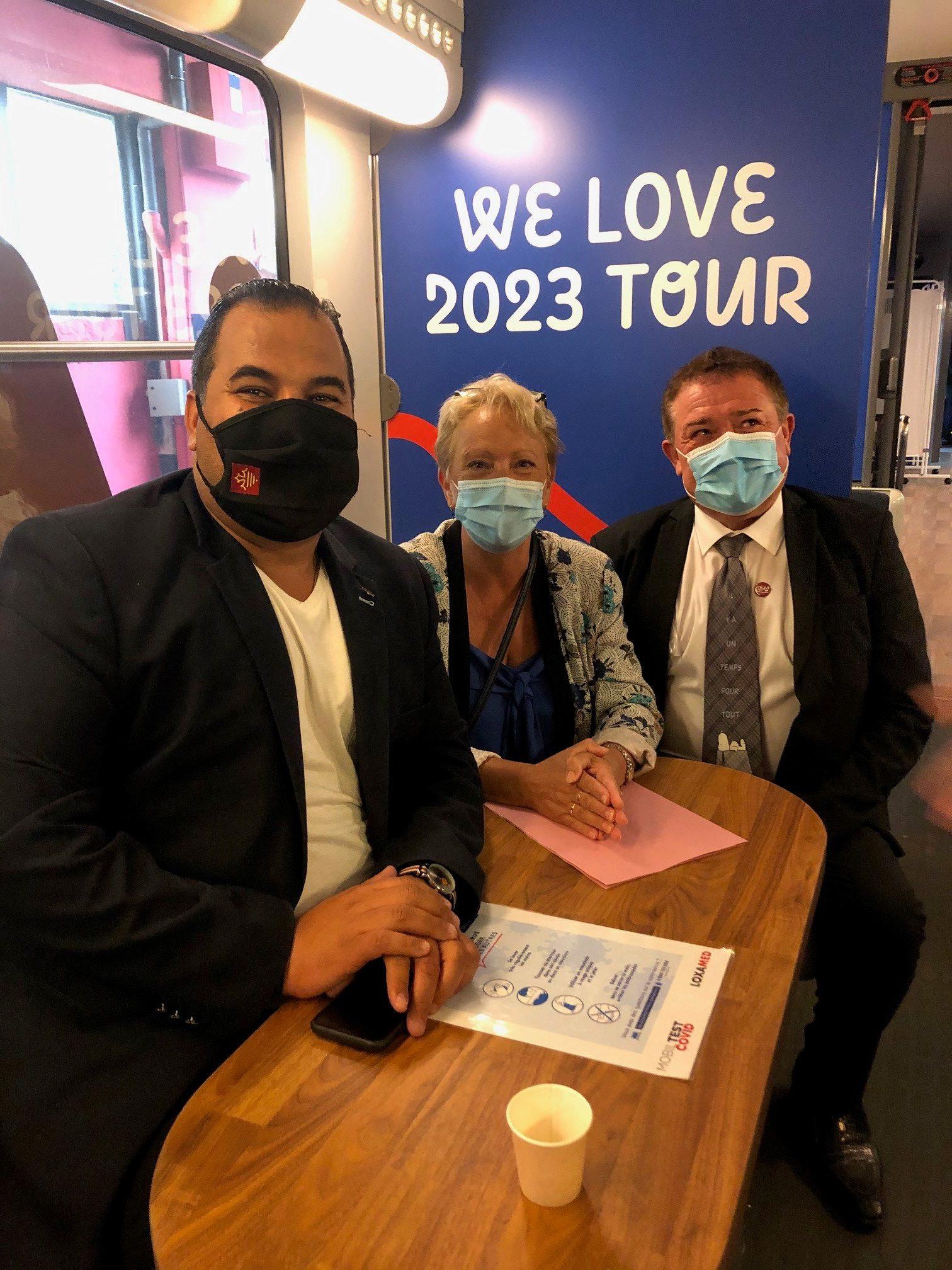 We love 2023 tour : un train pour valoriser l'artisanat