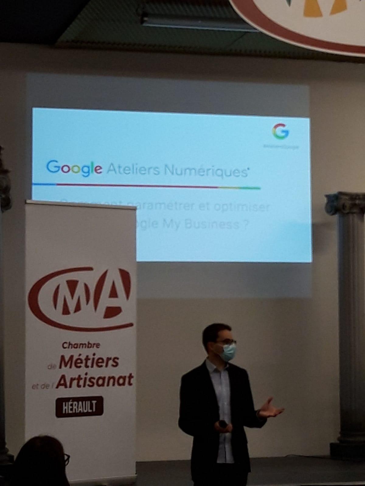 Ateliers Numériques Google à la CMA34