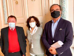 Le Président Christian Poujol rencontre les artisans de Sète