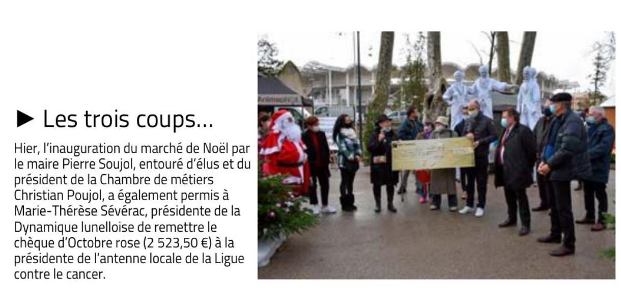 Marché de Noël de Lunel