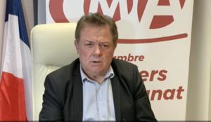 """Christian POUJOL, Président de la CMA 34 adresse un message au Président de la République : """"Ne privons pas les français de leurs artisans."""""""