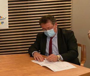 Soutien du projet de demande d'inscription au titre du contrat plan Etat-Région de demi-échangeur sur l'axe autoroutier A75 par Christian POUJOL