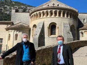 Christian POUJOL rencontre les artisans de Saint-Guilhem-le-Désert ce mardi 23 mars