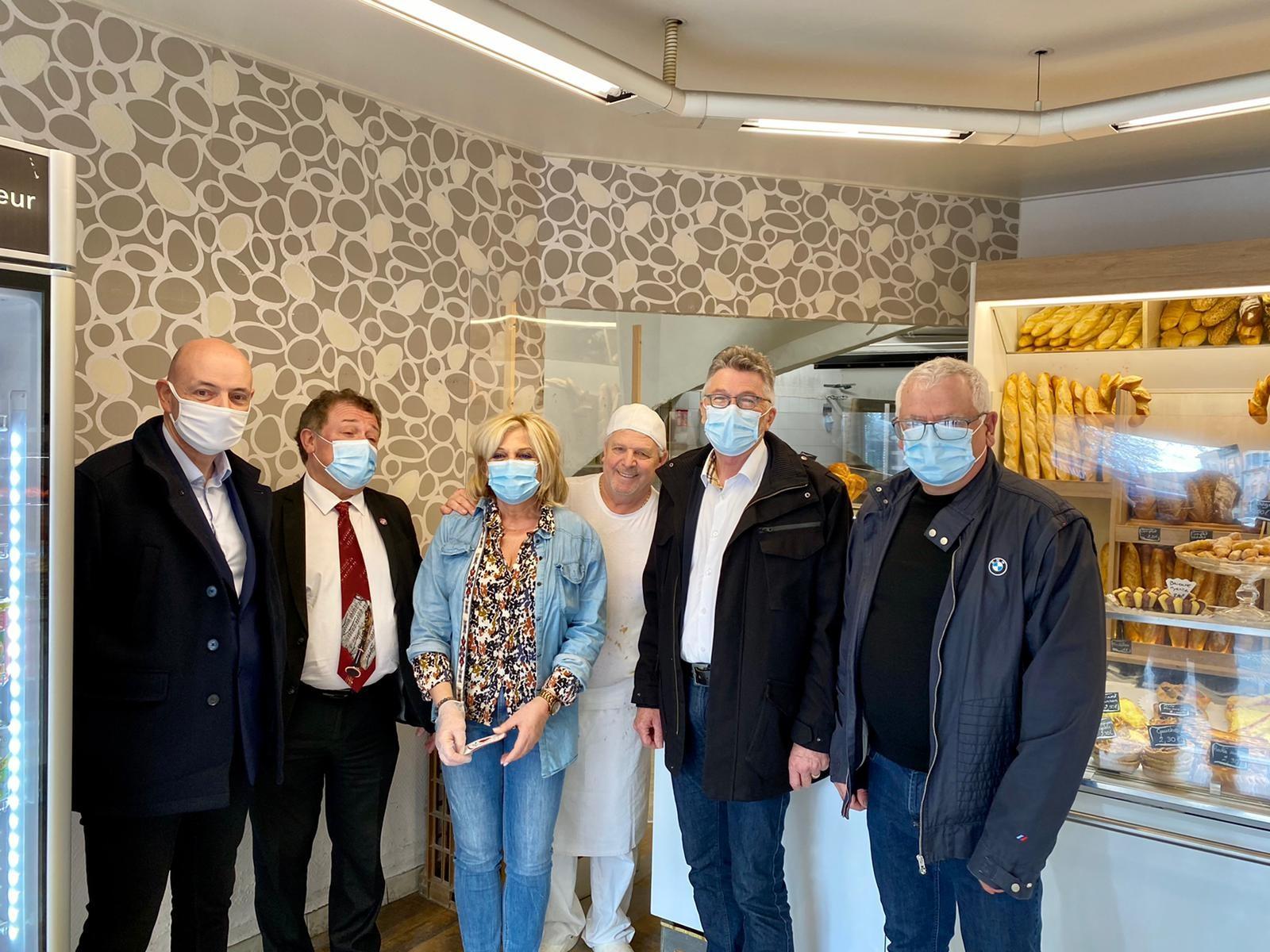 Christian POUJOL rencontre les artisans de Frontignan