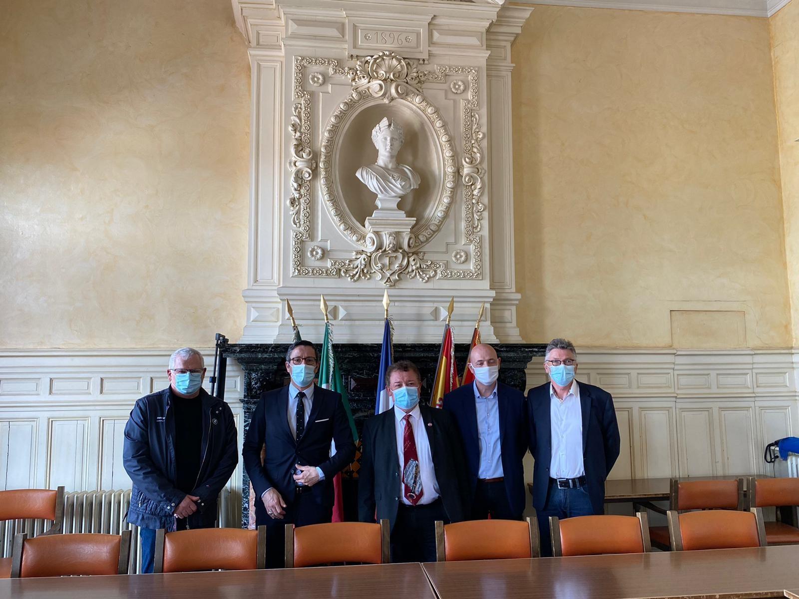 Concertation avec les élus locaux de Frontignan sur les problématiques des artisans Frontignanais