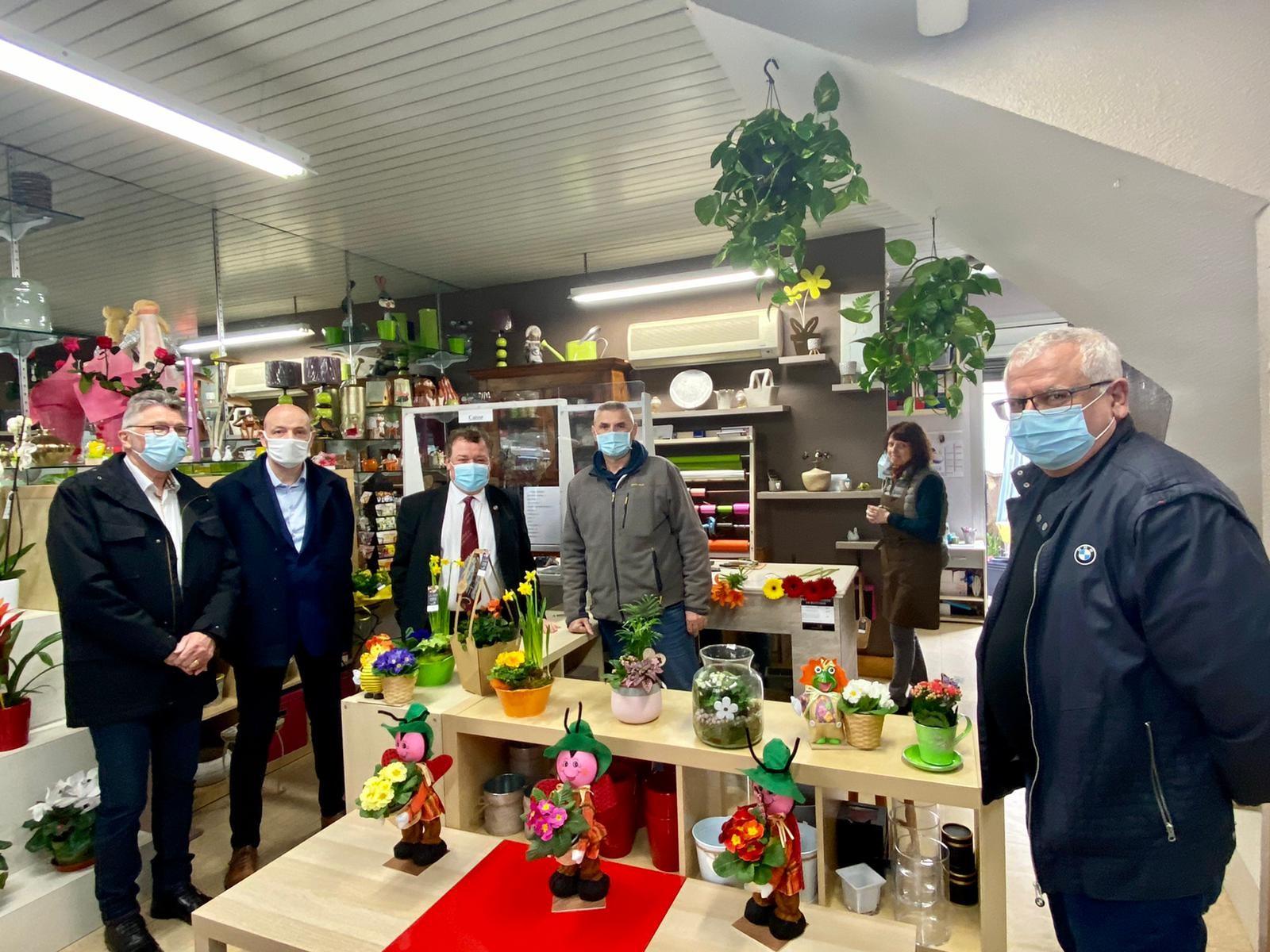 Christian Poujol rencontre les entreprises de Frontignan – la presse en parle