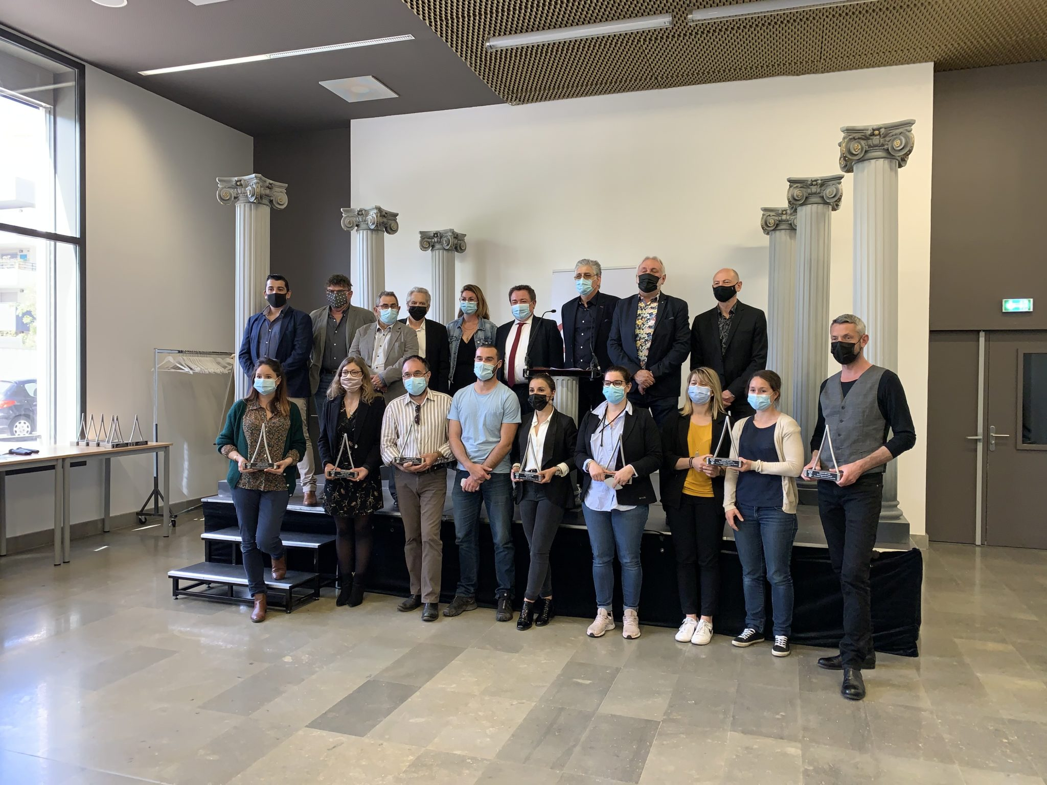 Remise des prix du de la 12ème édition du Concours Artinovart's