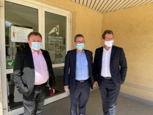 Réunion de travail entre les consulaires de l'Hérault