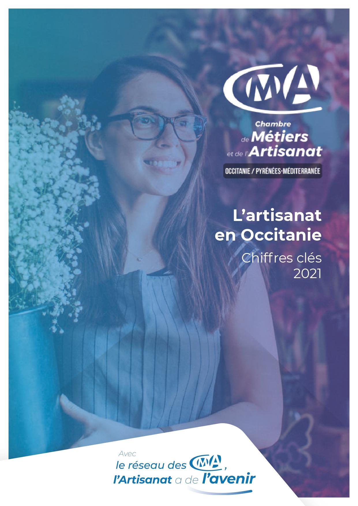 Chiffres clés 2021 de l'artisanat en région Occitanie