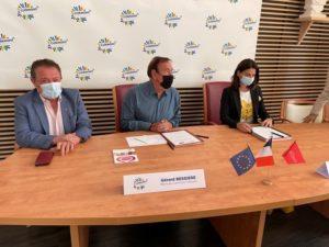 Signature de la Convention Initiative Centre Hérault